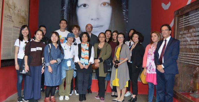 Una exposición reivindica la huella en la Isla de la escritora china San Mao