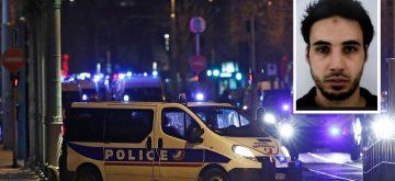 Policías franceses abaten al terrorista del mercado navideño de Estrasburgo