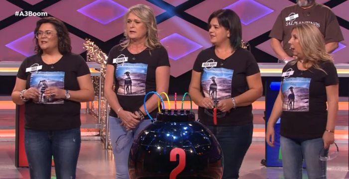 'Las baifas', las cuatro tinerfeñas que plantaron cara a Los Lobos en 'Boom!' de Antena 3