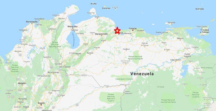 Un terremoto de unos 5 grados sacude el norte de Venezuela