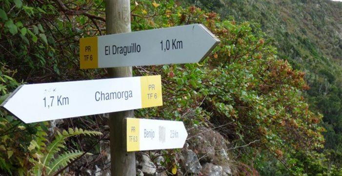 Buscan a cuatro personas desaparecidas entre el sendero de Chamorga y El Draguillo, en Santa Cruz