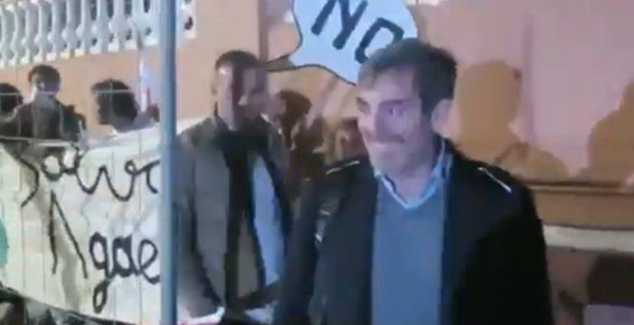 Escrache a Clavijo y a miembros de su gobierno en Gran Canaria