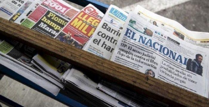 ¿Cómo se censura a los medios en Venezuela?