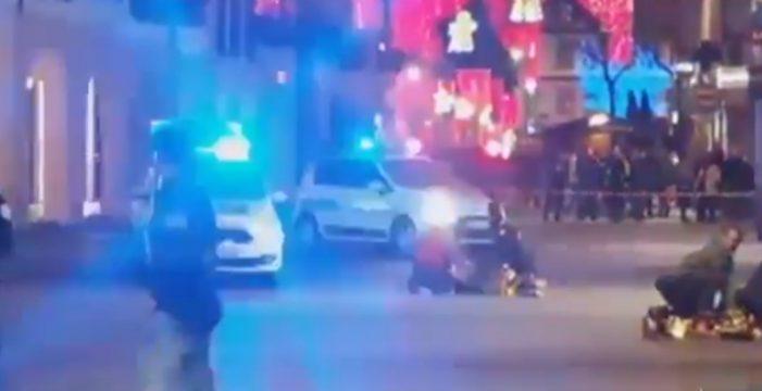 El autor del tiroteo en Estrasburgo se ha dado a la fuga