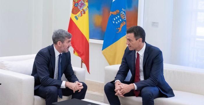 """Clavijo insiste en reunirse con Sánchez en Lanzarote aunque sean """"diez o quince minutos"""""""
