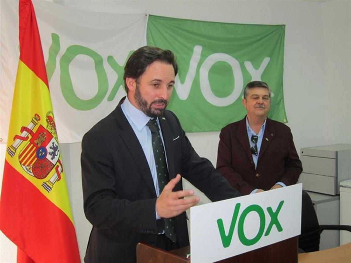 Santiago Abascal,, líder de VOX. / EP