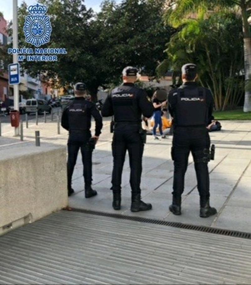 La Policía Nacional tramita 41 actas por venta y consumo de drogas en Los Gladiolos