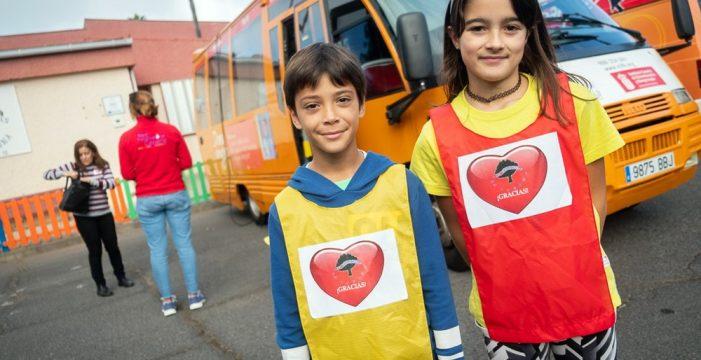 El CEIP Las Mercedes se involucra en la iniciativa '¡Tu gota no sobra! ¡Dona!'