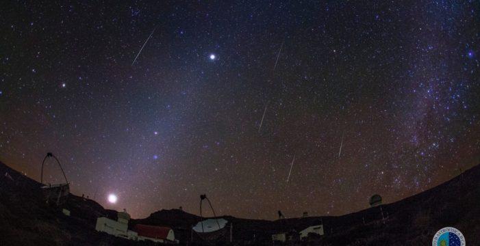 El Teide, un lugar privilegiado para disfrutar de las Gemínidas desde mañana y otras 4 noticias que debes conocer