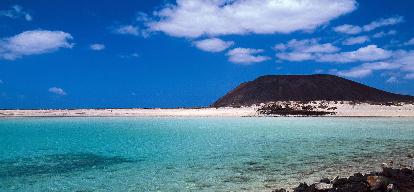 Islote de Lobos, en Fuerteventura. / CANARIAS.COM