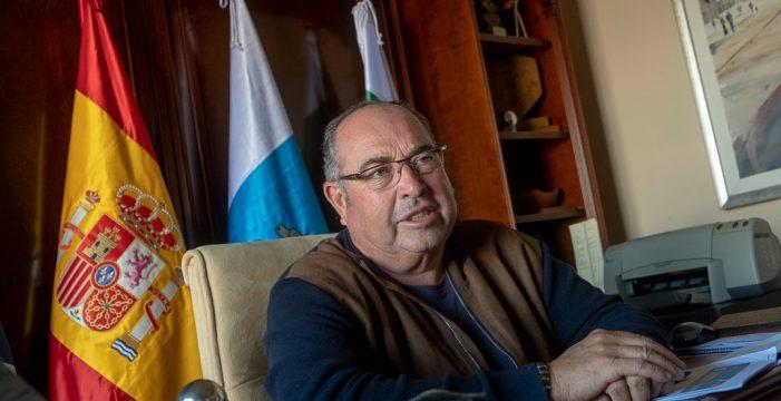 """Mariano Perez (alcalde de El Sauzal): """"Estoy desesperado por ver el nuevo auditorio"""""""