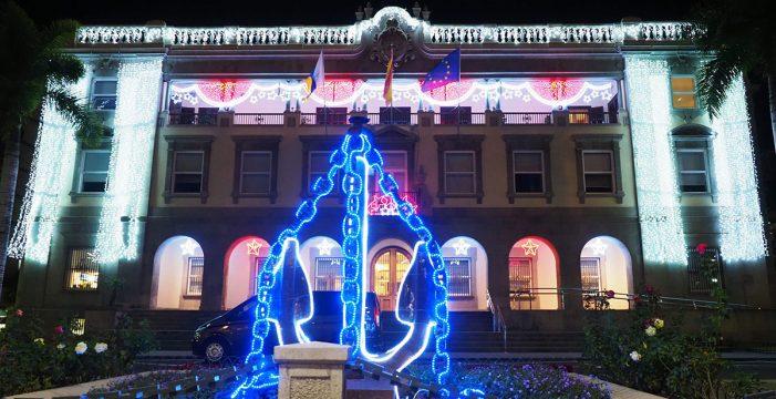 Santa Cruz, deslumbrante en estas navidades