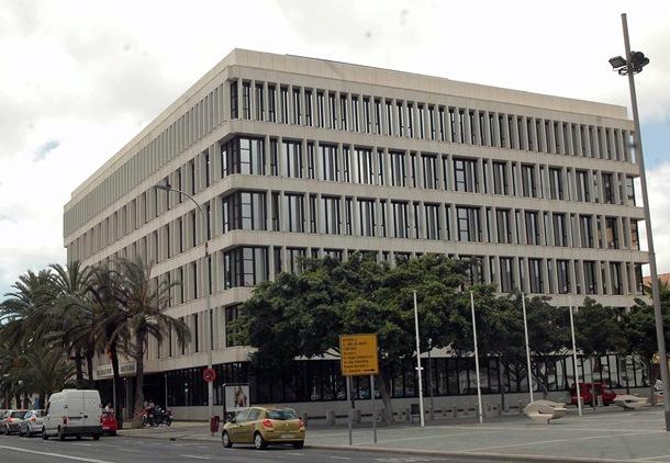 Sede de la Agencia Tributaria (AEAT) en Santa Cruz de Tenerife. DA