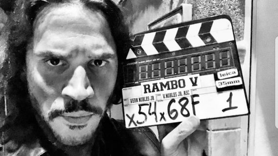 Peris-Mencheta, un malo muy bueno y muy agradecido, tras el rodaje de 'Rambo: Last Blood'