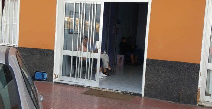 """Denuncian el """"tercermundista"""" consultorio médico de Las Galletas"""