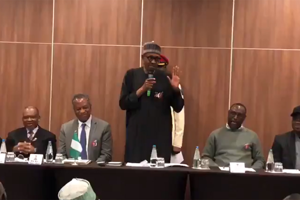 PRESIDENTE NIGERIA CLON