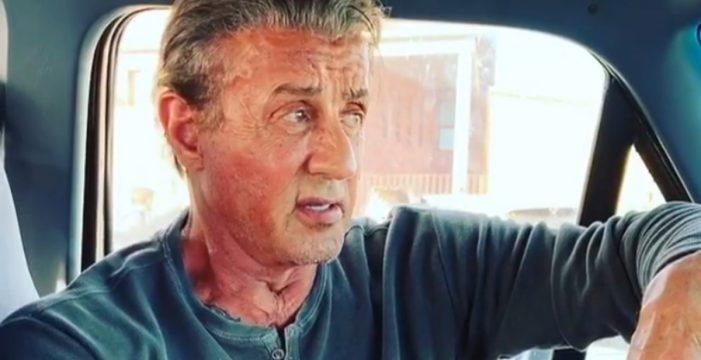 """Stallone dice """"adiós"""" a Rambo en Tenerife"""