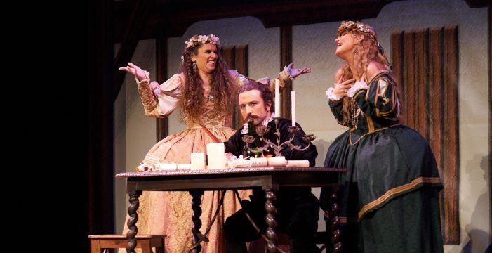 El Teatro Guimerá acoge este sábado la comedia en verso 'La farsa del Siglo de oro'