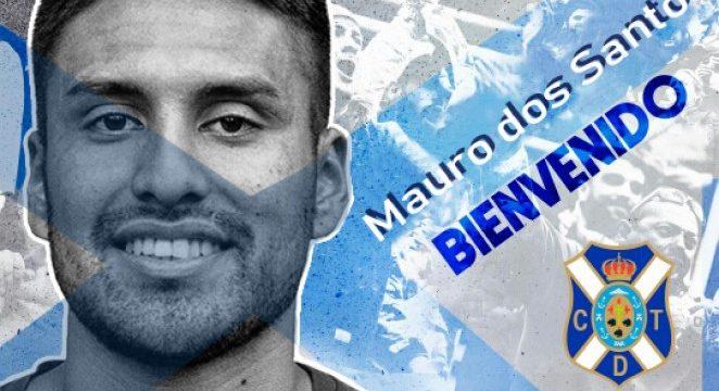 Mauro dos Santos, el nuevo fichaje del CD Tenerife
