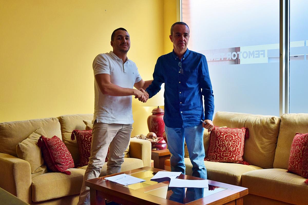 Acuerdo Manolo Mesa y Femotor Tenerife Diego Hernandez (1)