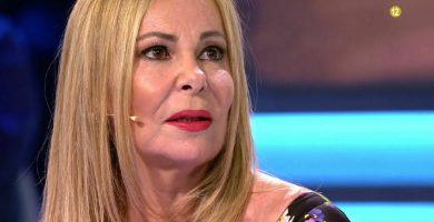 Ana Obregón, agradecida y emocionada en 'Volverte a ver'