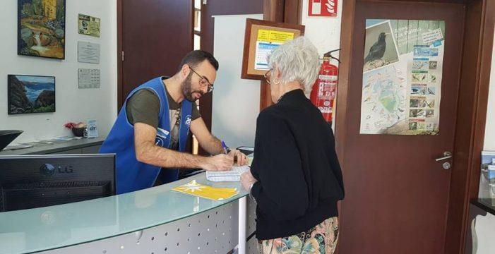 El CIT Tedote atendió en 2018 a 132.006 visitantes europeos en las oficinas turísticas que gestiona en La Palma