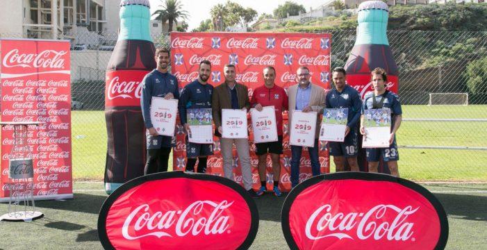 Coca-Cola y el Club Deportivo Tenerife presentan su calendario para 2019