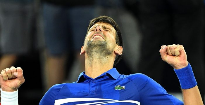 Djokovic no da opción a Nadal y conquista su séptimo título en Australia