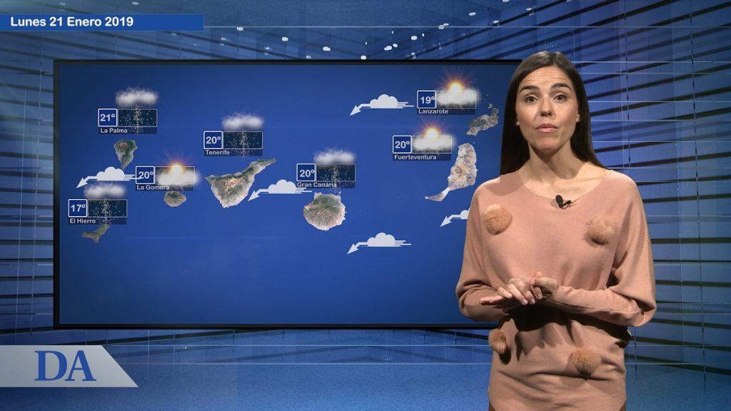 María José Enríquez presenta el servicio meteorológico de DA Media.