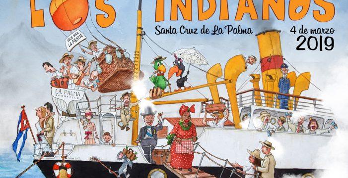 Puesta de largo del cartel de Indianos y tirón de orejas a Gobierno y Cabildo