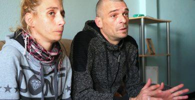 Josué y Yanira afrontan las horas previas al desalojo de su vivienda