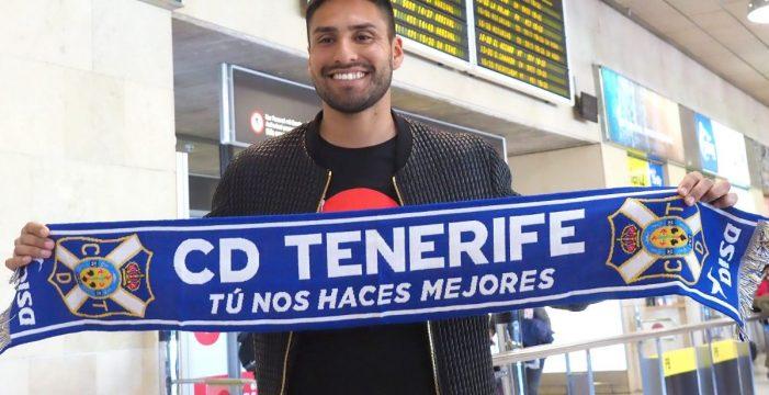 """Dos Santos cree que el proyecto del Tenerife es """"ambicioso"""""""