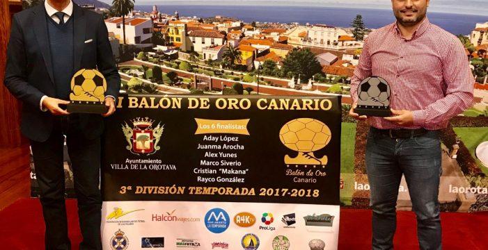 La Orotava acoge la II Gala del Balón de Oro canario