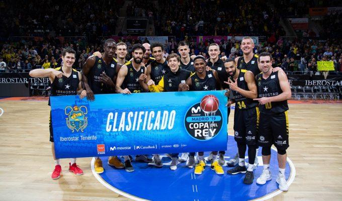 El Iberostar Tenerife será cabeza de serie en el sorteo de la Copa del Rey