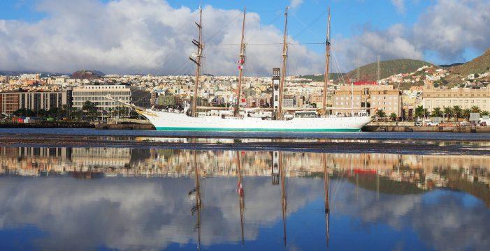 Elcano hace de Santa Cruz su puerto favorito