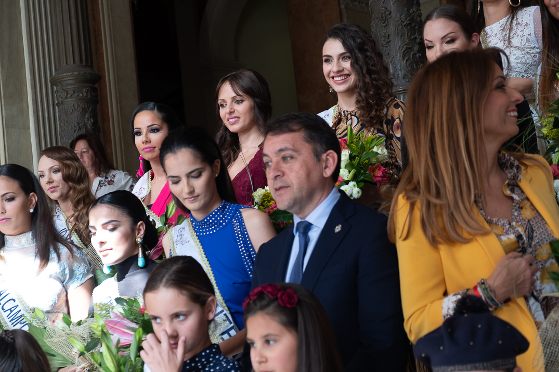 Ariadna Fregel, candidata a Reina del Carnaval / Fran Pallero
