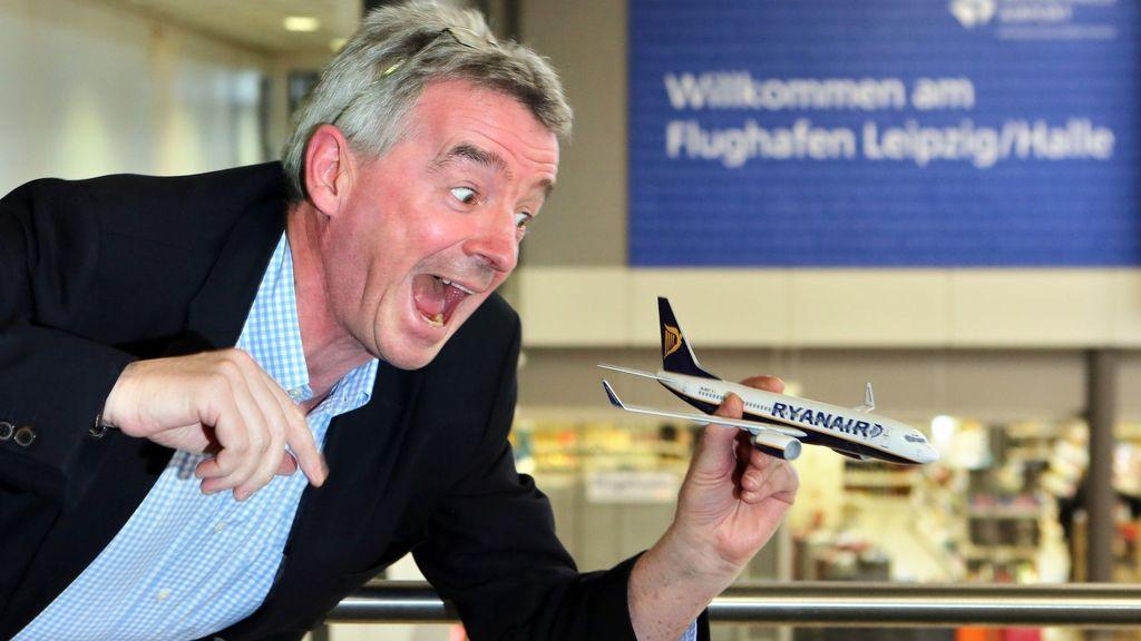 Michael O'Leary, propietario de Ryanair.| FOTO: El Español.