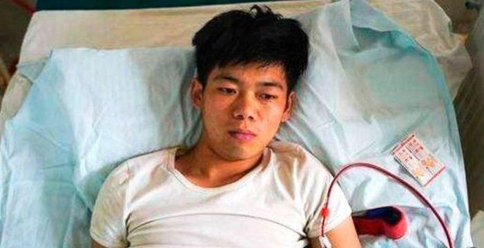 Vendió un riñón para comprarse un iPhone y acaba postrado en una cama