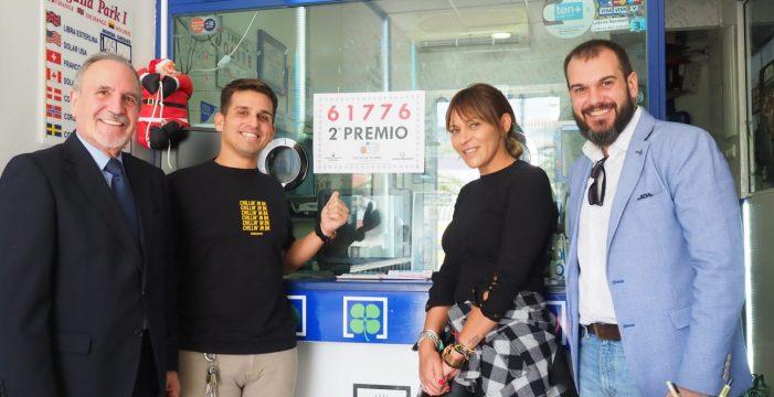El número 61.776, agraciado con segundo premio de El Niño, toca en Canarias