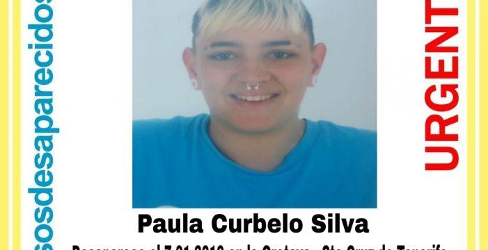 Paula Curbelo, otra menor de edad desaparecida en Tenerife