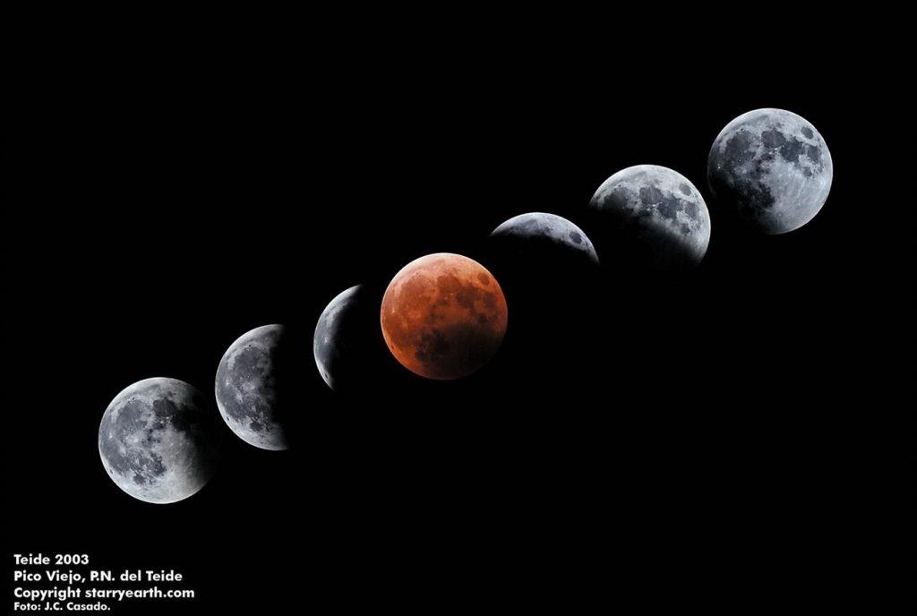 El eclipse total de Luna de esta noche podrá verse en toda España. | EP (J.C. CASADO/IAC)