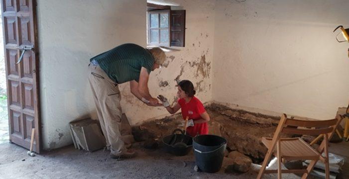 Patrimonio destinará nuevos fondos a la continuidad de la excavación arqueológica en el Castillo de Santa Catalina