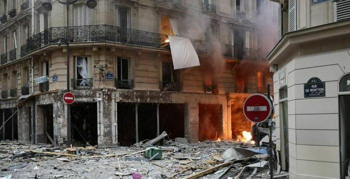 Una española, entre los tres muertos por la potente explosión de gas en una panadería de París