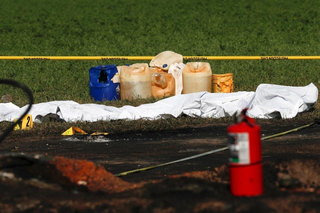 Se calcula que cerca de mil personas se encontraban en el lugar para recoger combustible cuando se produjo la deflagración. | EP