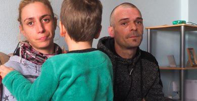 Una familia a punto de ser desahuciada lanza un desesperado grito de auxilio