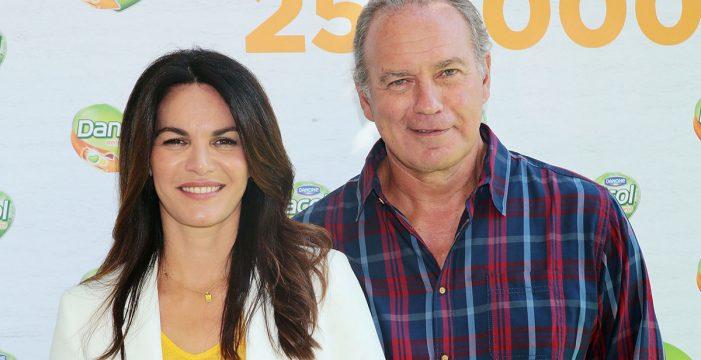 Bertín Osborne y Fabiola Martínez, preocupados por la salud de su hijo