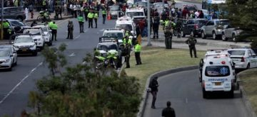 Atentado en Bogotá: al menos nueve muertos por la explosión de un coche bomba en una escuela de Policía
