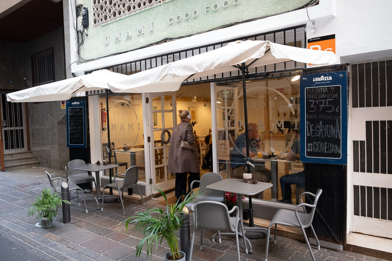Umami Good Food, restaurante de comida vegetariana en Santa Cruz / Foto: Fran Pallero