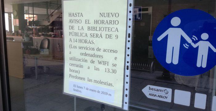 Denuncian el recorte del horario al público de la biblioteca municipal de Puerto de la Cruz