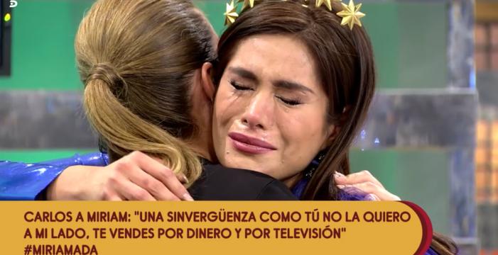 Miriam Saavedra confiesa que ha necesitado ayuda psicológica tras su ruptura con Carlos Lozano